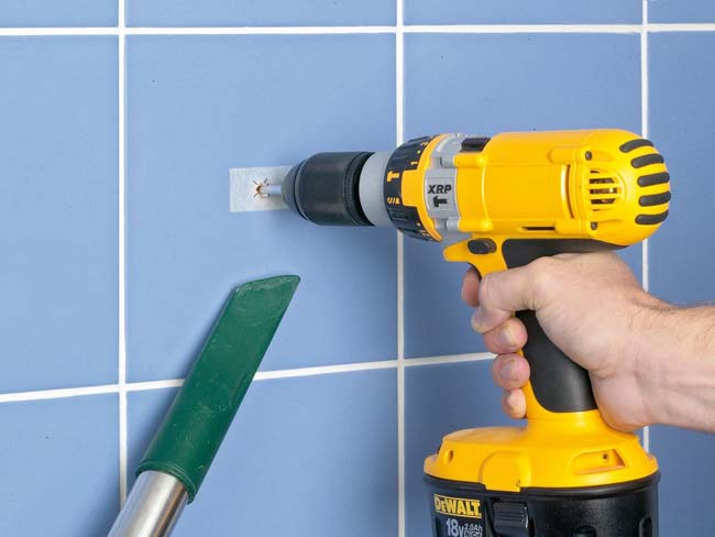 How to drill ceramic tiles