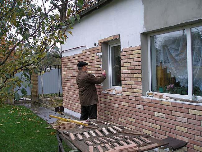 Фасадная плитка монтаж своими руками