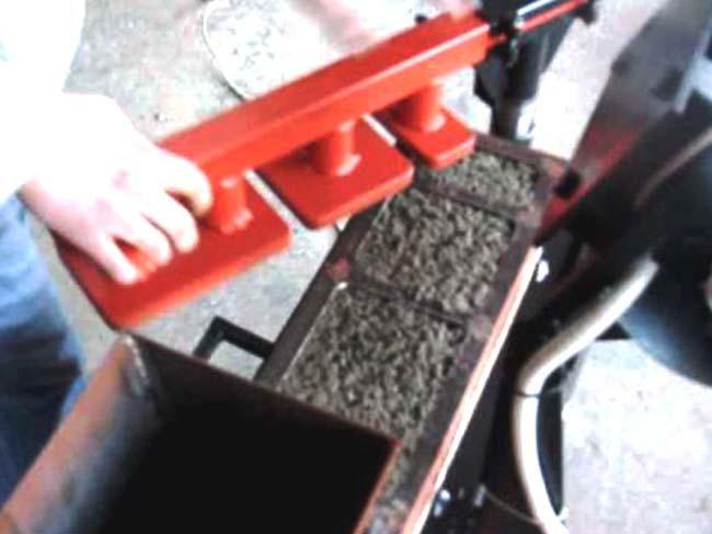 Как сделать вибропресса для тротуарной плитки