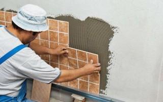 Различные способы выравнивания стен под плитку