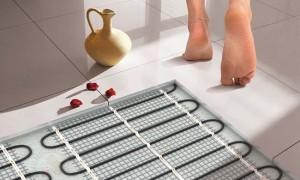 Укладка плитки на теплый пол — советы и видео рекомендации
