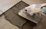 Каким будет расход плиточного клея на 1м2?