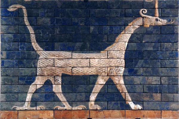 пример использования плитки в древности
