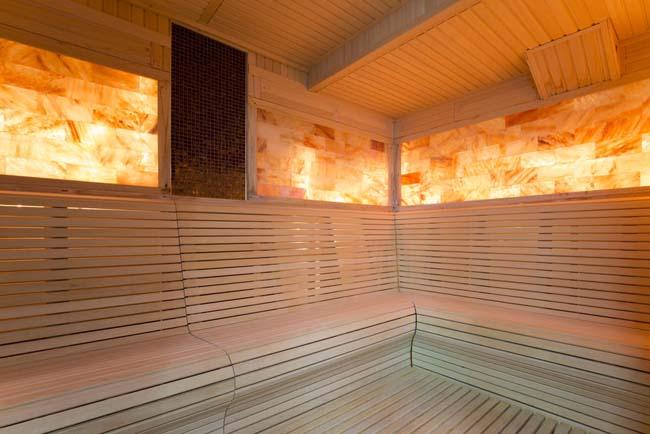 гималайская соль в виде плиток - украшение интерьера