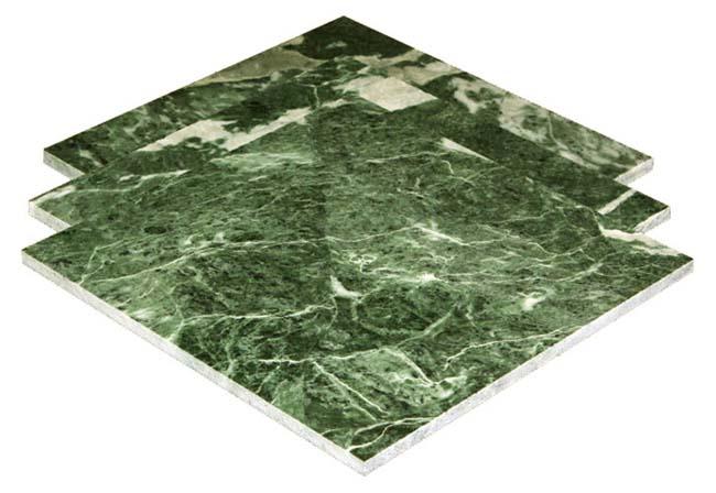 Серпентинит имеет зеленоватый оттенок, что придает декору помещения особый успокаивающий тон