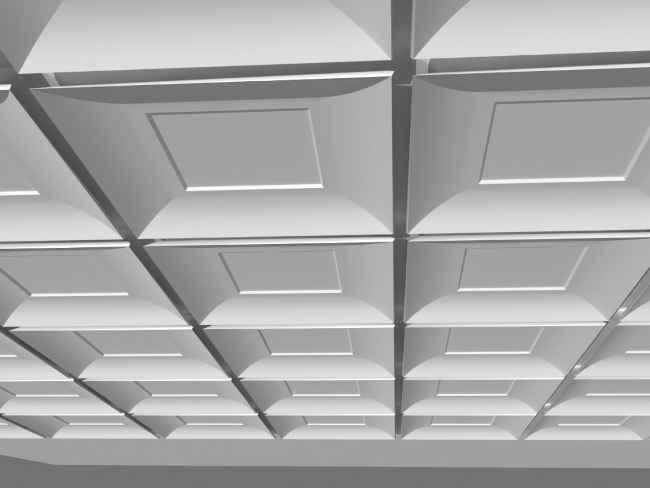 гипсовая потолочная плитка