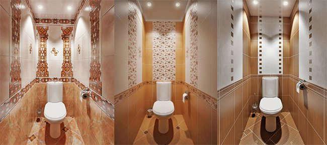 пример туалетов в квартире