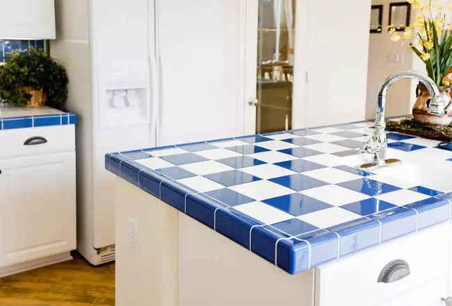 Кухонная столешница сделанная своими руками