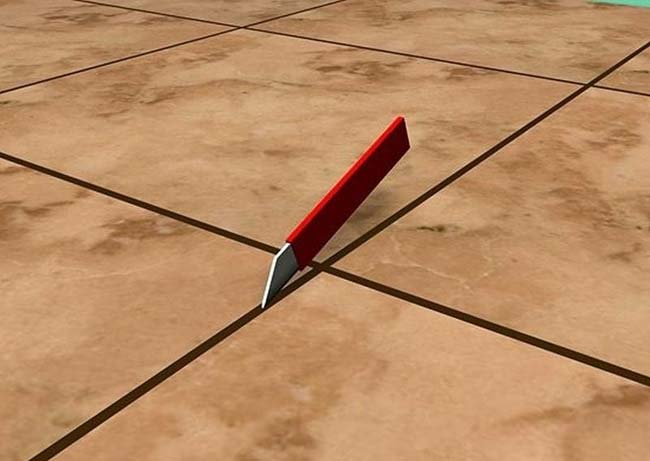 правильное направление движение инструмента при очистке швов