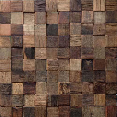 мозаика из дерева ручной работы