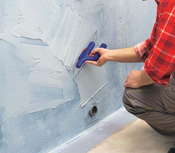 Гидроизоляция стены перед наклейкой плитки наливной пол богатырь б-801