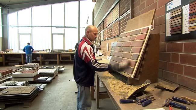 процесс изготовления клинкерной плитки