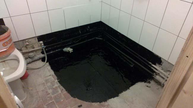 гидроизол на пол в туалет