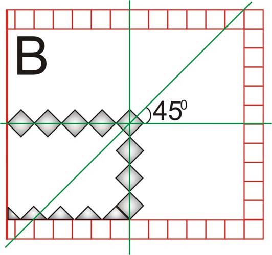графическая схема разметки пола