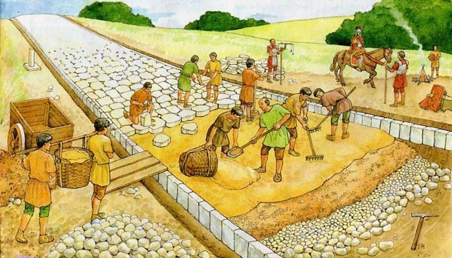 ручные земляные работы в древние века