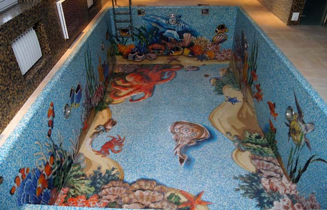 морозоустойчивая плитка для бассейна