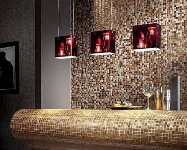 неповторимый узор ковра создан с применением мозаичной смеси