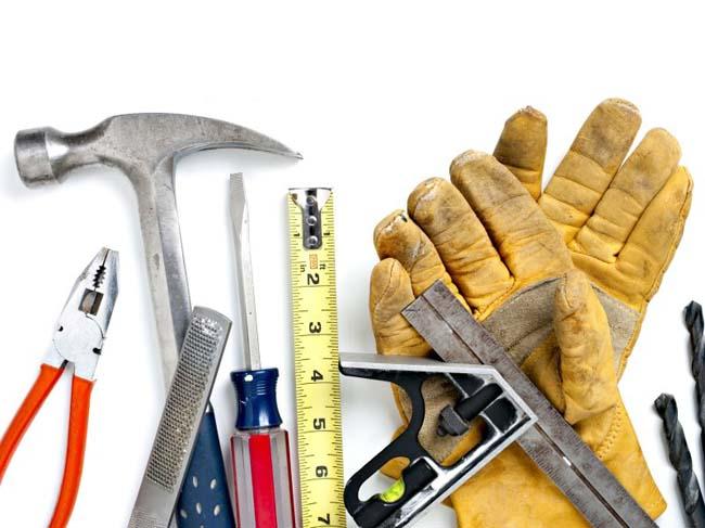 Инструменты необходимые для монтажа поддона