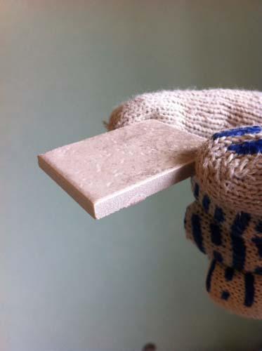 мозаичная плитка размером три на три сантиметра