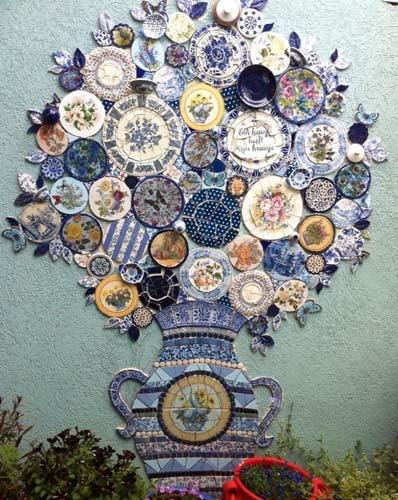 рельефная мозаика
