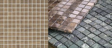 разница между мозаичной плиткой и настоящей мозаикой
