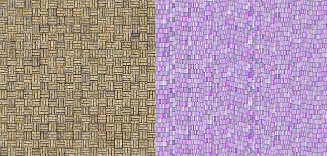 пример имитации мозаики