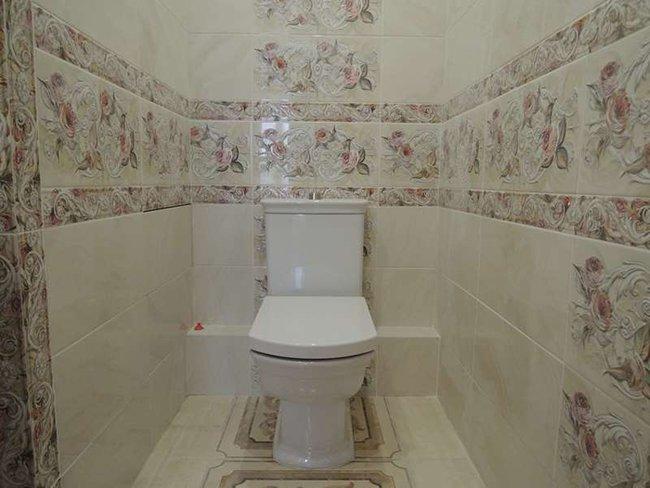 Красивый туалет располагает к уединению