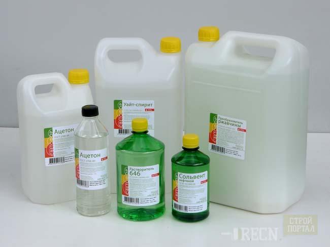 химические препараты способные растворить силиконовый герметик