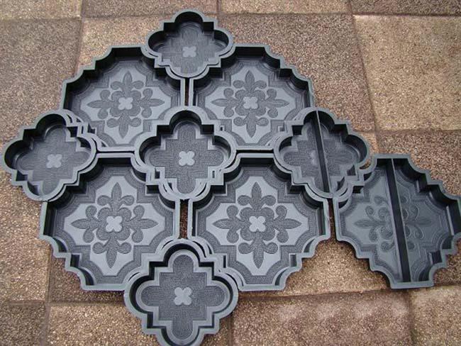 силиконовая формы для изготовления плитки