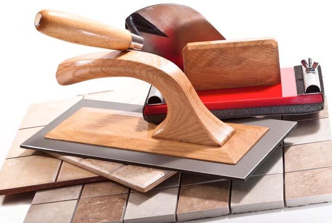 инструменты для укладки плитки на теплый пол