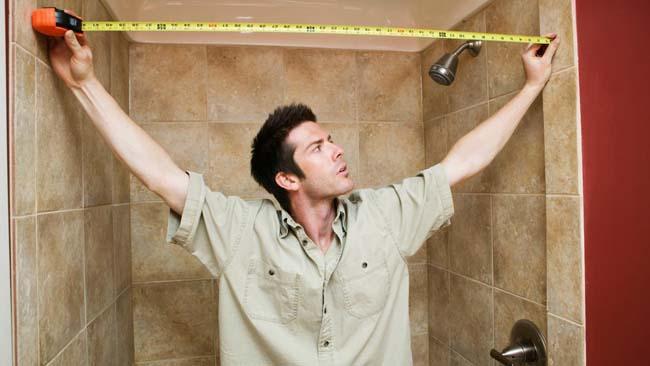 важно правильно замерить размеры стен