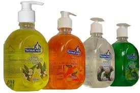 жидкое мыло тоже можно применять в виде пластификатора