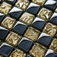 стеклянная мозаика с золотистым оттенком
