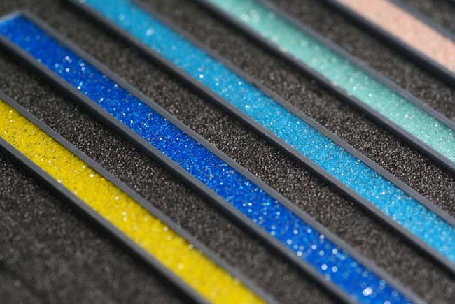 затирки различных цветовых оттенков