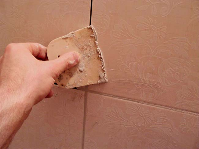 расшивка плиточных швов
