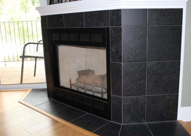 огнеупорная плитка для каминов