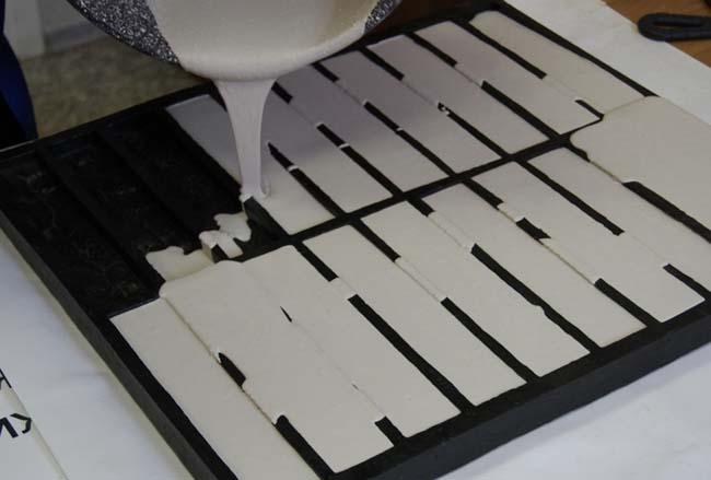 заливка гипсовой плитки в домашних условиях
