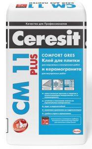 Церезит, клей для керамогранитной плитки