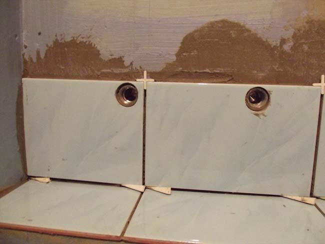 отверстия в плитке под кран