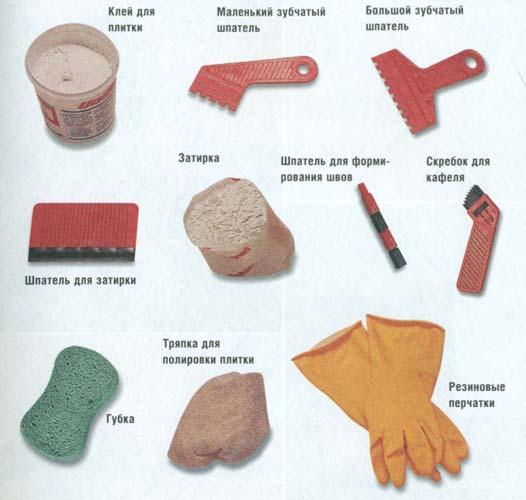 набор инструментов для правильной фуговки швов