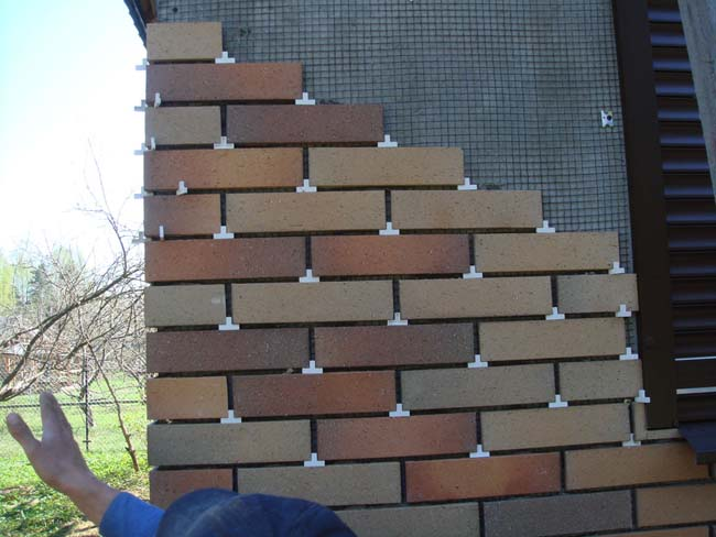 облицовка фасада плиткой