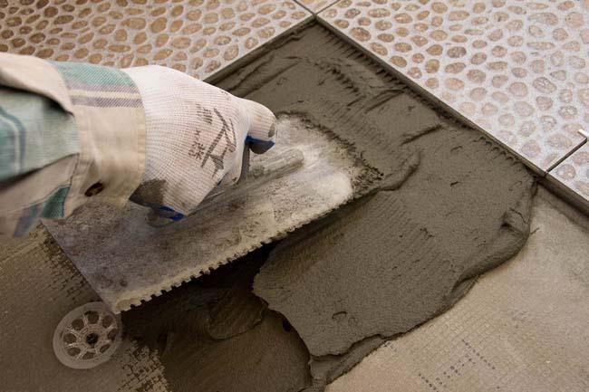 укладка керамогранитной плитки