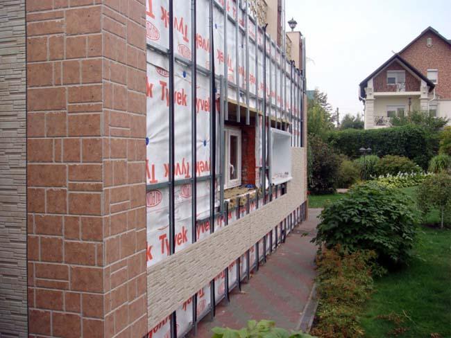 каркас вентилируемого фасада