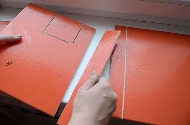 нестандартный способ сделать отверстие в плитке
