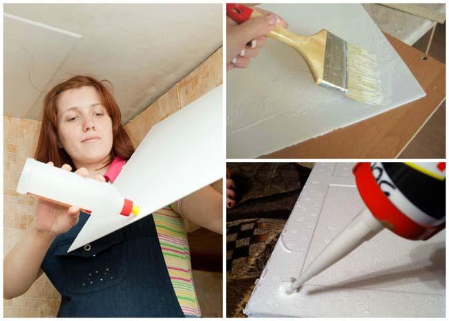 способ нанесения клея на плитку