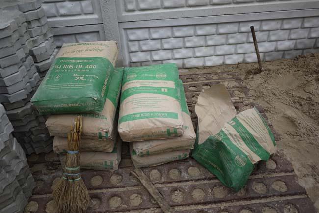 мешки цемента необходимые для производства