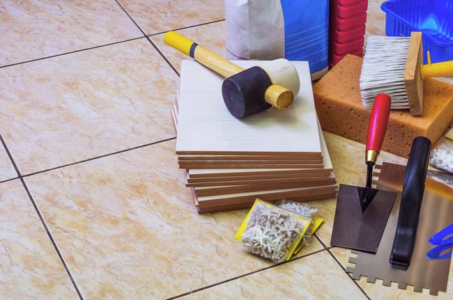 подгтовка инструментов и материала к работе на кухне