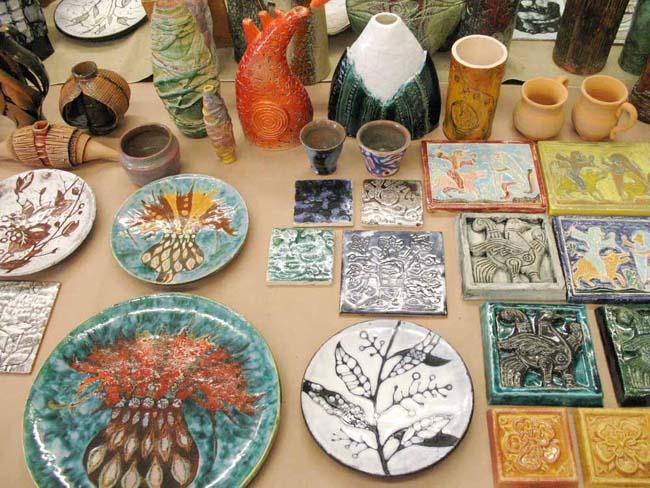 поделки из керамики