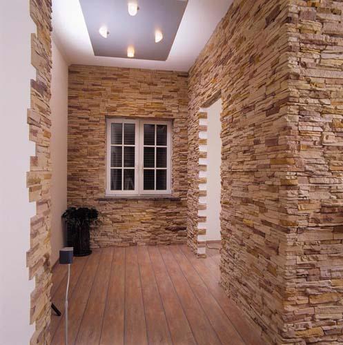 красота декоративного кирпича в интерьере квартиры неоспорима