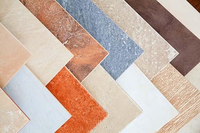 различные типы керамической плитки